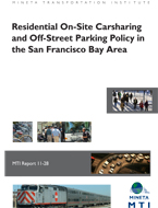 Residential On-Site Carsharing and Off-Street Parking Policy in the San Francisco Bay Area