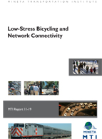 Low-Stress Bicycling and Network Connectivity
