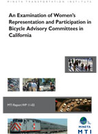 An Examination of Women's Representation and Participation in Bicycle Advisory Committees in California