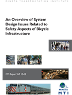 An Overview of System Design Issues Related to Safety Aspects of Bicycle Infrastructure