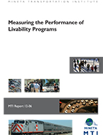 Measuring the Performance of Livability Programs
