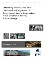 Assessing Importance and Satisfaction Judgments of Intermodal Work Commuters with Electronic Survey Methodology