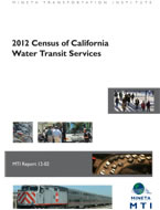2012 Census of California Water Transit Services