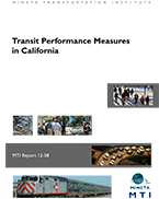 Transit Performance Measures in California