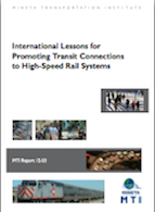 International Lessons for Promoting Transit Connections to High-Speed Rail Systems