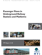 Passenger Flows in Underground Railway Stations and Platforms