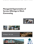 Managerial Segmentation of Service Offerings in Work Commuting