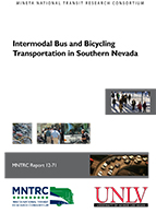 Intermodal Bus and Bicycling Transportation in Southern Nevada