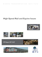 High-Speed Rail and Equine Issues