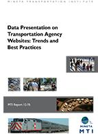 Data Presentation on Transportation Agency Websites: Trends and Best Practices