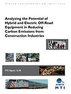 Analyzing the Potential of Hybrid and Electric Off-Road Equipment in Reducing Carbon Emissions from Construction Industries
