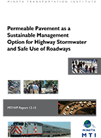 Permeable Pavement as a Sustainable Management Option for Highway Stormwater and Safe Use of Roadways