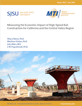 Measuring the Economic Impact of High Speed Rail Construction for California and the Central Valley Region