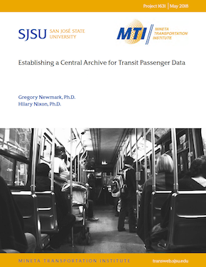 Establishing a Central Archive for Transit Passenger Data