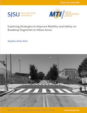 Exploring Strategies to Improve Mobility and Safety on Roadway Segments in Urban Areas