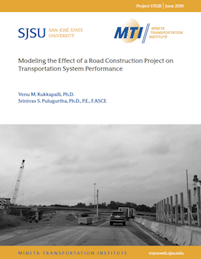 Modeling the Effect of a Road Construction Project on Transportation System Performance