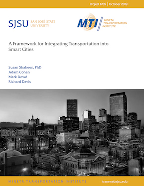 A Framework for Integrating Transportation Into Smart Cities