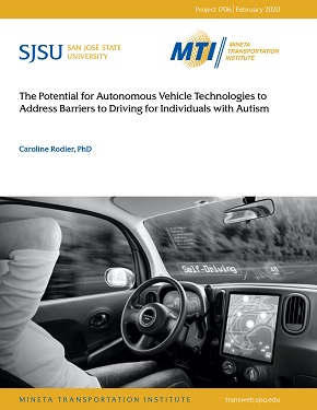 The Potential for Autonomous Vehicle Technologies to Address Barriers to Driving for Individuals with Autism