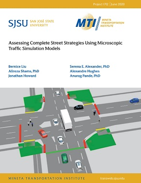 Assessing Complete Street Strategies Using Microscopic Traffic Simulation Models