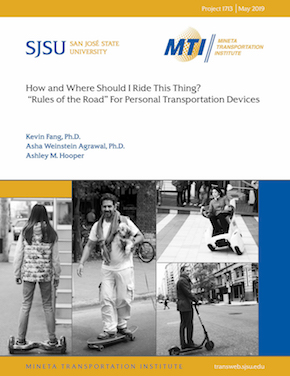 """How and Where Should I Ride This Thing? """"Rules Of The Road"""" for Personal Transportation Devices"""