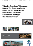 What Do Americans Think About Federal Tax Options to Support Public Transit, Highways, and Local Streets and Roads? Results from Year Eight of a National Survey