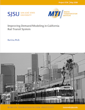 Improving Demand Modeling in California Rail Transit System