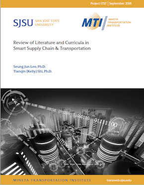 Review of Literature and Curricula in Smart Supply Chain & Transportation