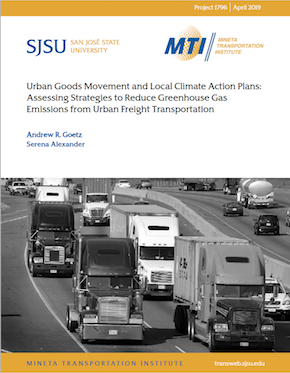 Urban Goods Movement and Local Climate Action Plans: Assessing Strategies to Reduce Greenhouse Gas Emissions from Urban Freight Transportation