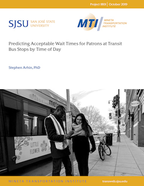 Predicting Acceptable Wait Times for Patrons at Transit Bus Stops by Time of Day