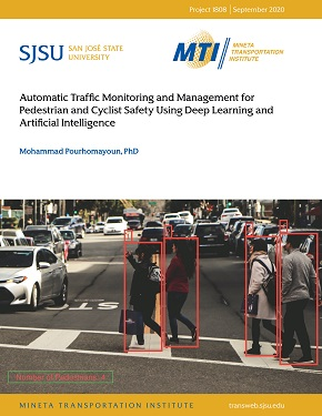 Automatic Traffic Monitoring and Management for Pedestrian and Cyclist Safety Using Deep Learning and Artificial Intelligence