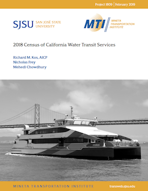 2018 Census of California Water Transit Services | Mineta