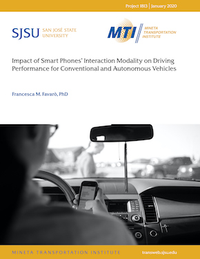 Impact of Smart Phones' Interaction Modality on Driving Performance for Conventional and Autonomous Vehicles