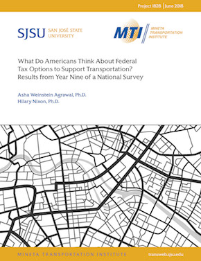 What Do Americans Think About Federal Tax Options To Support Transportation? Results From Year Nine of a National Survey