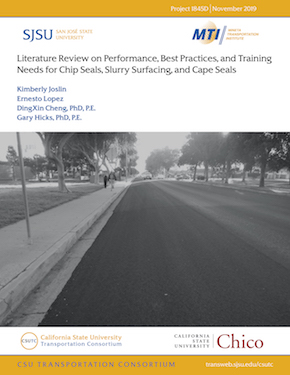 Literature Review on Performance, Best Practices, and Training Needs for Chip Seals, Slurry Surfacing, and Cape Seal