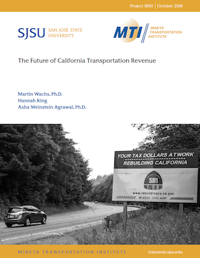 The Future of California Transportation Revenue