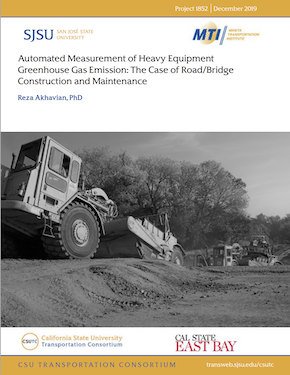 Automated Measurement of Heavy Equipment Greenhouse Gas Emission: The case of Road/Bridge Construction and Maintenance