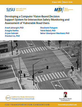 Developing a Computer Vision-Based Decision Support System for Intersection Safety Monitoring and Assessment of Vulnerable Road Users