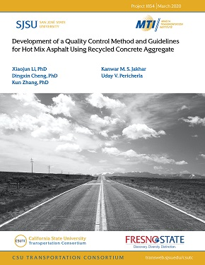Development of a Quality Control Method and Guidelines for Hot Mix Asphalt Using Recycled Concrete Aggregate