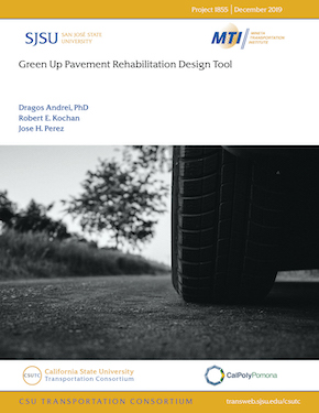 Green Up Pavement Rehabilitation Design Tool