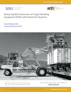 Reducing NOx Emissions of Cargo Handling Equipment (CHE) with Humid Air Systems