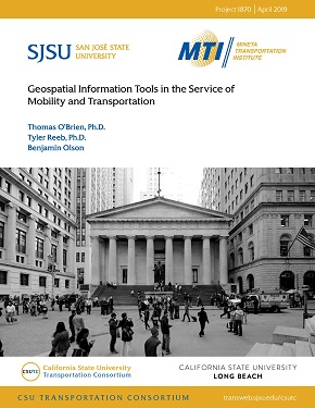 Geospatial Information Tools in the Service of Mobility and Transportation
