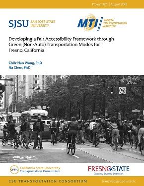 Developing a Fair Accessibility Framework through Green (Non-Auto) Transportation Modes for Fresno, California