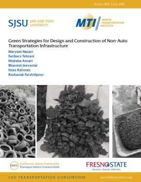 Green Strategies for Design and Construction of Non-Auto Transportation Infrastructure