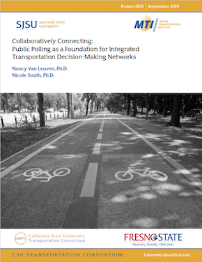 Collaboratively Connecting: Public Polling as a Foundation for Integrated Transportation Decision-Making Networks