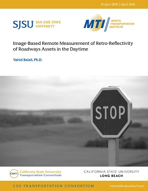 Image-Based Remote Measurement of Retro-Reflectivity of Roadways Assets in the Daytime
