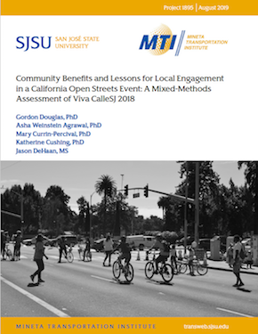 Community Benefits and Lessons for Local Engagement in a California Open Streets Event: A Mixed-Methods Assessment of Viva CalleSJ 2018