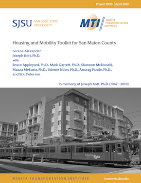 Housing and Mobility Toolkit for San Mateo County