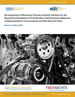 Development of Reduced Chemical Kinetic Models for the Numerical Simulation of Combustion and Emissions Behavior of Representative Conventional and Bio-derived Fuels