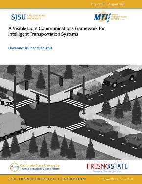 A Visible Light Communications Framework for Intelligent Transportation Systems