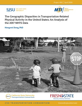 The Geographic Disparities in Transportation-Related Physical Activity in the United States: An Analysis of the 2017 NHTS Data
